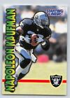 1999  NAPOLEON KAUFMAN - Kenner Starting Lineup Card - OAKLAND RAIDERS