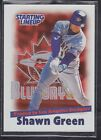 2000  SHAWN GREEN - Kenner Starting Lineup Card - Toronto Blue Jays