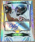 SIGNED 2009 BOWMAN STERLING REFRACTOR #115 ARIAN FOSTER TEXANS AUTO ROOKIE # 75