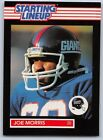 1989  JOE MORRIS - Kenner Starting Lineup Card - NEW YORK GIANTS