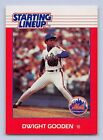 1988  DWIGHT GOODEN - Kenner Starting Lineup Card - New York Mets - Vintage