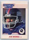 1988  JOE MORRIS - Kenner Starting Lineup Card - NEW YORK GIANTS