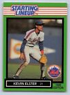 1989  KEVIN ELSTER - Kenner Starting Lineup Card - NEW YORK METS