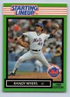 1989  RANDY MYERS - Kenner Starting Lineup Card - NEW YORK METS