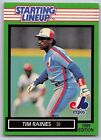 1989  TIM RAINES - Kenner Starting Lineup Card - SLU - Montreal Expos - Vintage