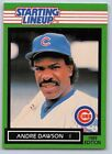 1989  ANDRE DAWSON - Kenner Starting Lineup Card - Chicago Cubs - Vintage