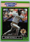1989  BOBBY BONILLA - Kenner Starting Lineup Card - PITTSBURGH PIRATES