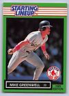 1989  MIKE GREENWELL - Kenner Starting Lineup Card - BOSTON RED SOX