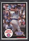 1990  DAMON BERRYHILL - Kenner Starting Lineup Card - Chicago Cubs - (BLUE)