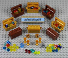 LEGO - Treasure Chests Lot - PICK ITEMS - Jewels Gems Gold Rocks Pirate Minifig