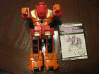 PREDAKING RAMPAGE METAL VERSION LOT ORIGINAL G1 VINTAGE TRANSFORMER NICE