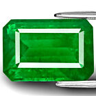 14.92-Carat Majestic Intense Royal Green Emerald from Zambia