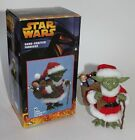 STAR WARS  YODA  KURT S ADLER FABRICHE SANTA CLAUS in box