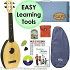 FLEA Ukulele NATURAL concert size + Musician Maker Kit helps you play great