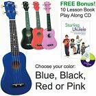 HILO Soprano Ukulele + zip case + FREE BONUS Starting Ukulele lesson book