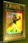 Michael Jenkins RC 2004 Bowman Chrome Red Refractor Rookie #129 210 GEM BGS 9.5!