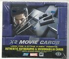 X2 Movie Cards X-Men Hobby Sealed Box Topps
