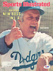 Tommy Lasorda Autographed Signed Magazine Cover Dodgers To John PSA DNA #S39015