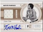 2010-11 Panini National Treasures KEVIN MCHALE Auto Jersey Card #d 10
