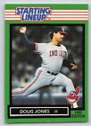 1989  DOUG JONES - Kenner Starting Lineup Card - CLEVELAND INDIANS