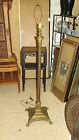 Antique French Empire Style Floor Lamp Brass or Bronze