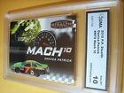 DANICA PATRICK 2010 PRESS PASS STEALTH MACH 10 MT 9 9 GRADED 10 L@@@K