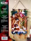 Bucilla Nativity Manger Felt Christmas Wall Hanging Kit 85331 Baby Jesus 2014