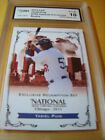 YASIEL PUIG 2013 LEAF NATIONAL CONVENTION VIP REDEMPTION ROOKIE RC YP5 GRADED 10
