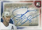 Dave Ellett 2012-13 ITG In The Game Forever Rivals Autographs Card # ADE