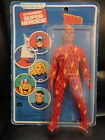 HUMAN TORCH ORIGINAL 70s VINTAGE MEGO 8 DOLL   IN ORIGINAL PACKAGE
