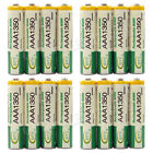 16 x AAA 3A 1350mAh Ni-MH 1.2V Volt Rechargeable Battery Green BTY LR03 R03