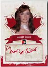 Margot Kidder 2011 In The Game Canadiana Red Autograph Auto 1 1 Superman