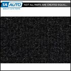 for 89 94 Geo Metro 2 Door Hatchback w Split Rear Seat 801 Black Complete Carpet