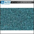 for 89 94 Geo Metro 2 Door Hatchback w Split Rear Seat 802 Blue Complete Carpet