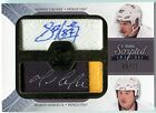 Sidney Crosby Mario Lemieux 2011-12 UD The Cup Scripted Swatches AUTO PATCH 15