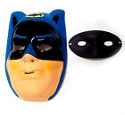 DC Comics Vintage 1970s Plastic Batman  Robin Masks AMAZING CONDITION RETRO