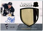 Sidney Crosby 2010-11 UD The Cup Limited Logos AUTOGRAPH PATCH Jersey 19 50