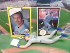 1990  KIRK GIBSON - Starting Lineup -SLU - Loose With TWO Cards - L.A. Dodgers