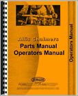 Parts Manual For Allis Chalmers B Tractor #5 Sickle Bar Mower