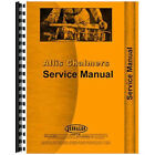 Service Manual for Allis Chalmers HD6A HD6B Crawler Diesel-Crawler Chassis Only