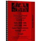 IHS1660Comb Service Manual For Case 1660 Combine includes fold-out illustrations