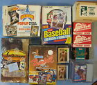 BASEBALL BOX LOT--1994 Ted Williams #1-1987 Donruss-1985 1986 D Leaf Sets *BL57
