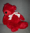 Boyds Bears Collection  plush red Bear  with heart ribbon bow  Bears and Friends