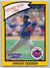1990  DWIGHT GOODEN - Kenner Starting Lineup Card - NEW YORK METS - (Yellow)