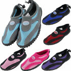 Womens Water Shoes Aqua Socks Yoga Exercise Pool Beach Dance Swim Slip On Surf