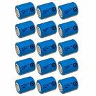15x Exell 1.2V 650mAh NiCD 2/3 SubC Rechargeable Battery Flat Top Cell USA SHIP