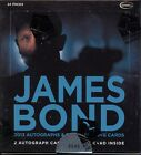 James Bond 2013 Autographs & Relics Trading Card Box MINT