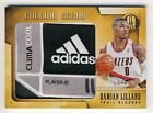 Damian Lillard 2013-14 Panini Gold Standard Bullion Brand Laundry Tag Patch 1 2