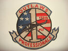 Vietnam War US 1st Pltn 175th Assault Helicopter Co. OUTLAWS PROFESSIONALS Patch