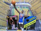 1992  DERRICK COLEMAN - Starting Lineup - Loose with Card & Poster - N.Y. Nets